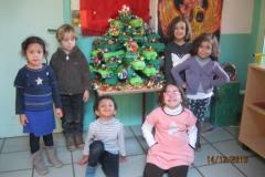 Création du sapin de Noël
